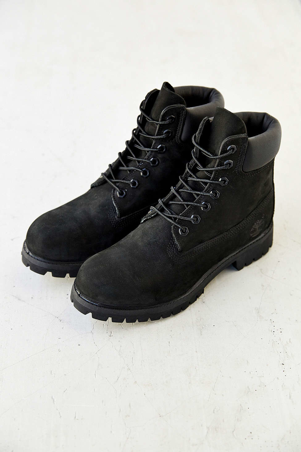 timberland 6 quot icon boot in black for lyst