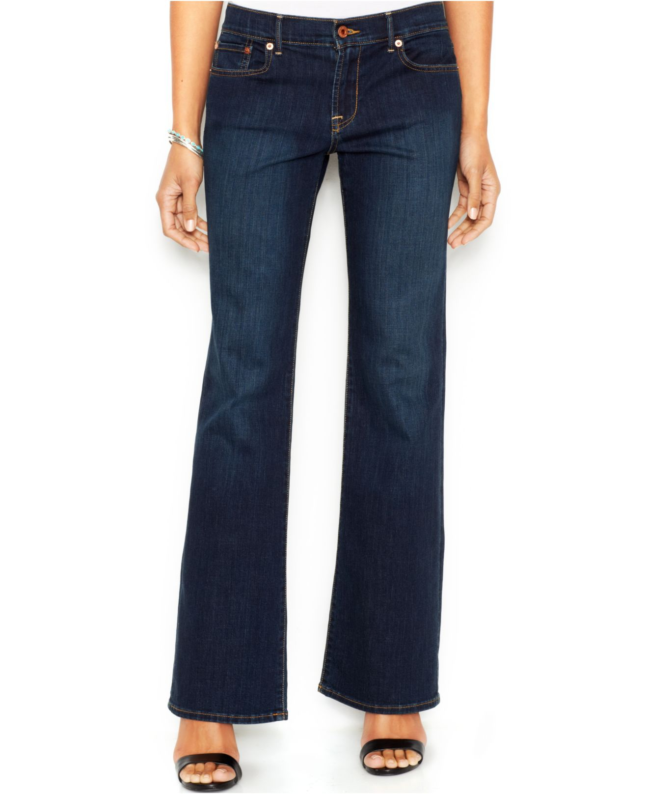 6b98acc4f38ff Lyst - Lucky Brand Lucky Brand Sweet  n Low Bootcut Jeans