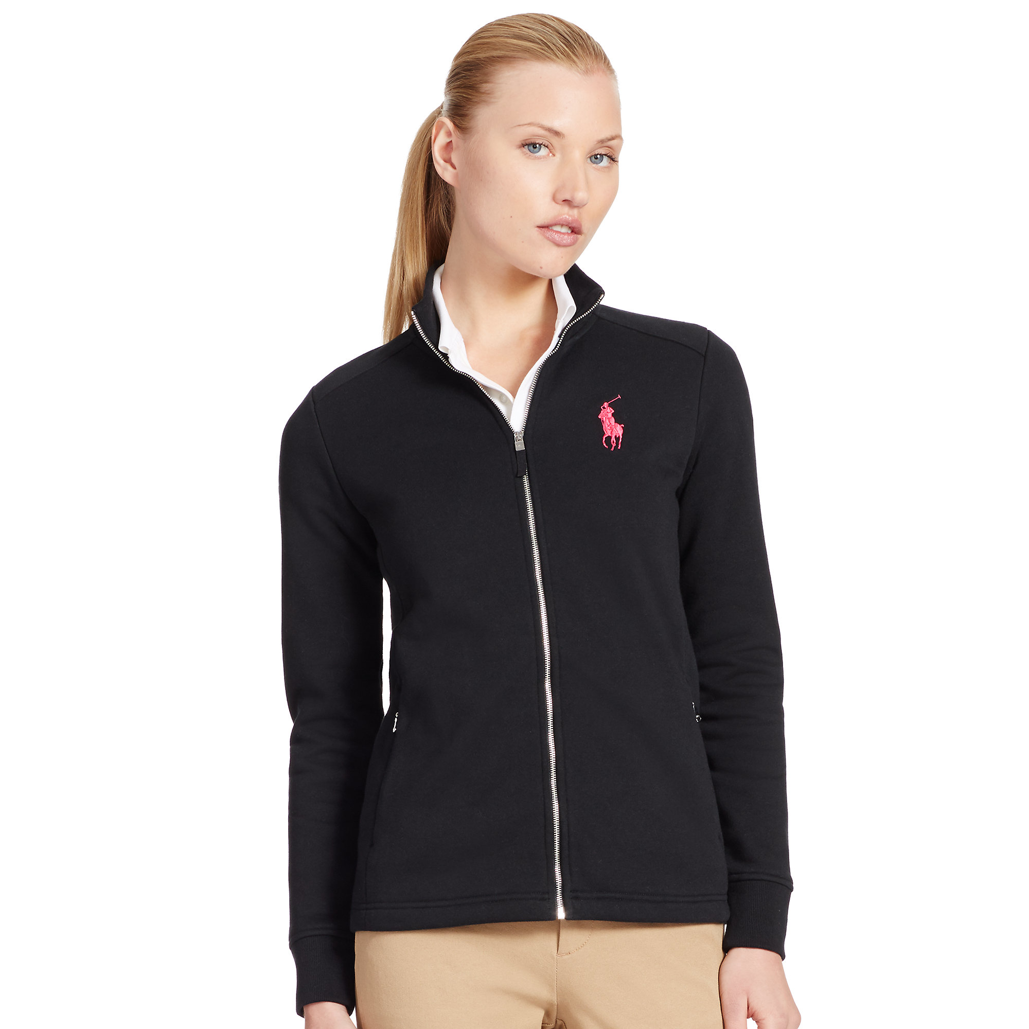 Polo Zip Up Jacket