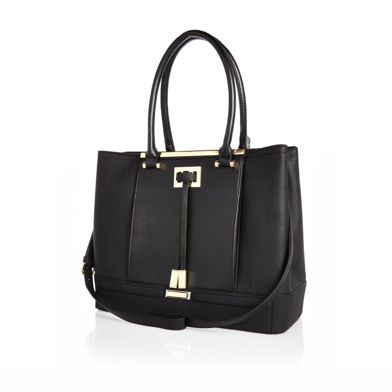 River Island Winged Shopper Bag