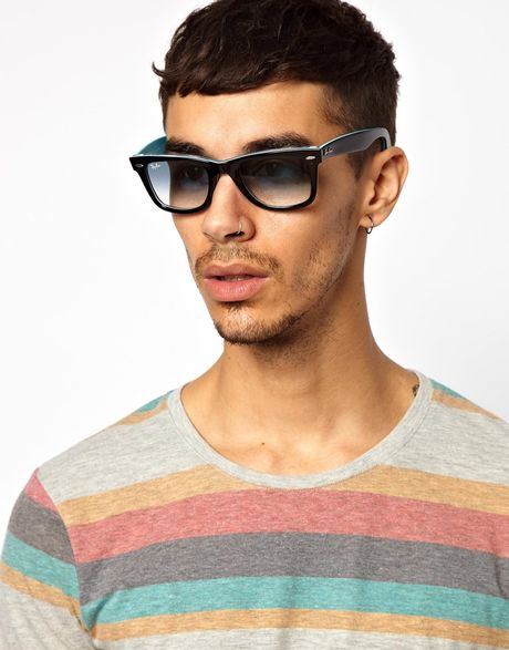Mens Ray Ban Wayfarer Sunglasses Ray Ban 2 Tone Wayfarer