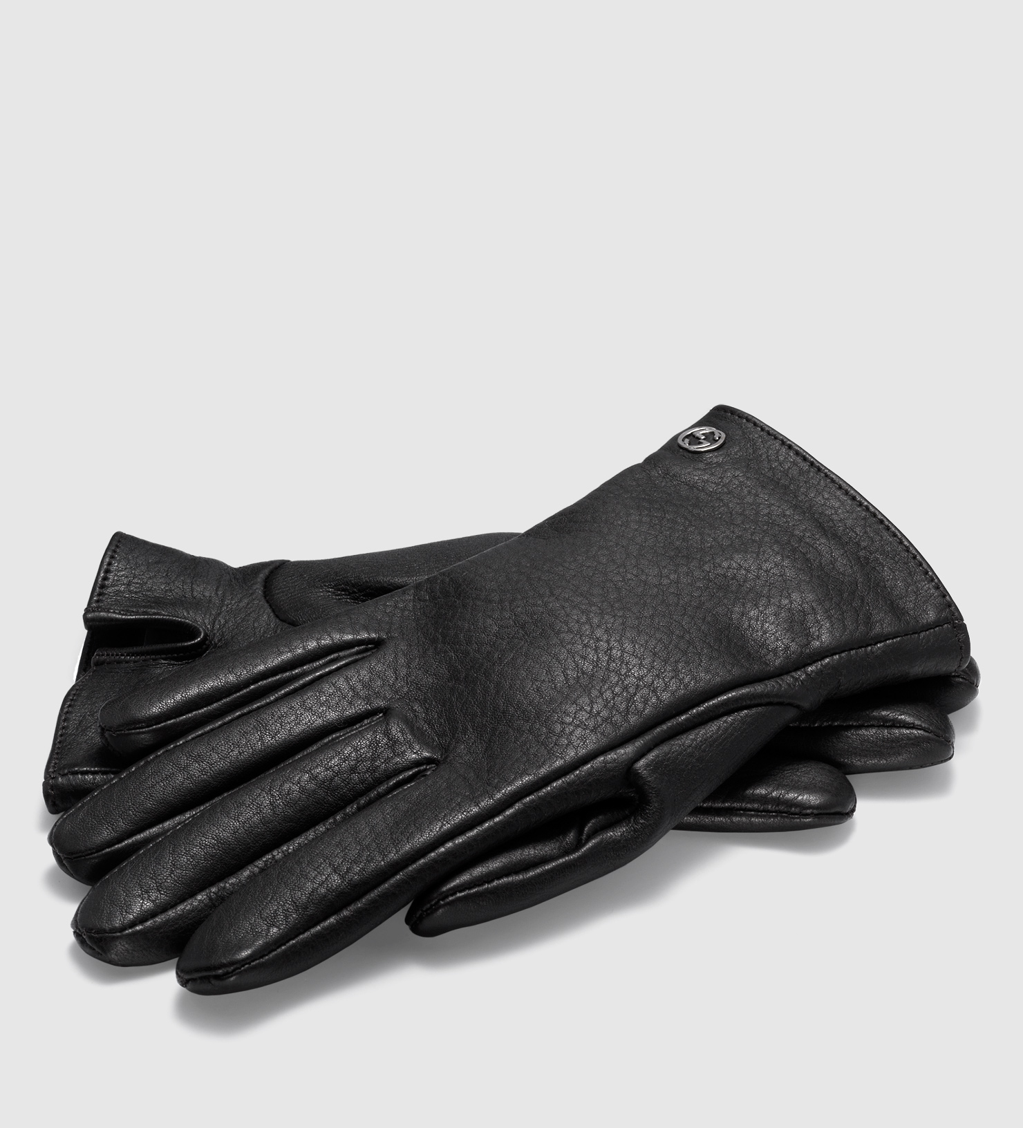 Mens leather gloves rabbit fur lined - Mens Gucci Gloves Gallery Men S Leather Gloves