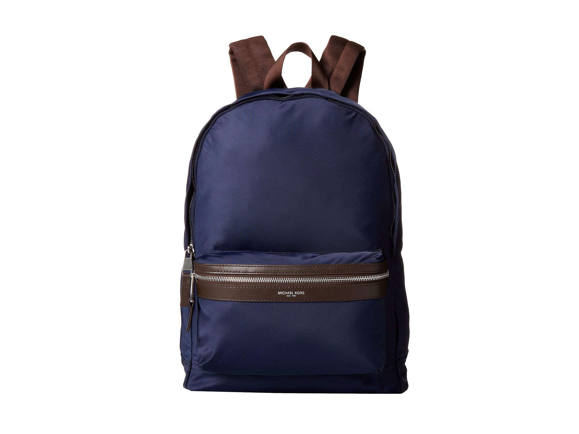 087ddbf96616 Michael Kors Kent Backpack in Blue for Men - Lyst