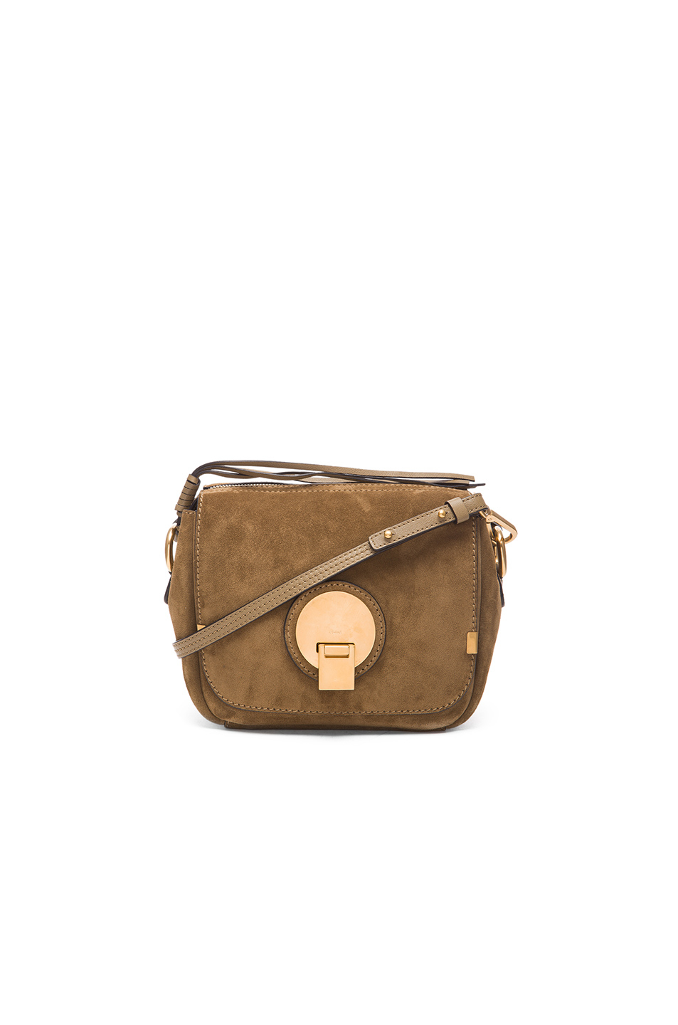 INDY CAMERA BAG IN SUEDE CALFSKIN