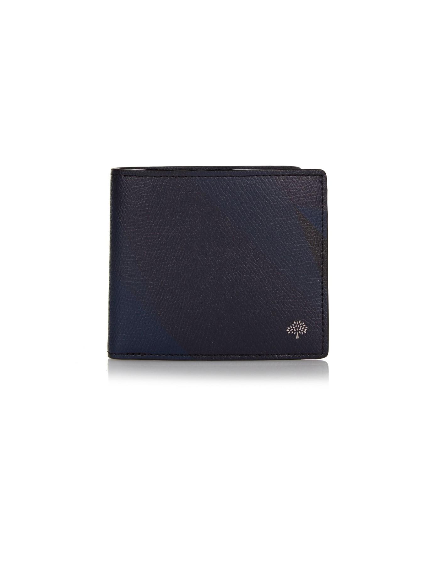 fdd9afce1e61 ... canada mulberry dazzle camo print leather wallet in blue for men lyst  99a5d dfa23