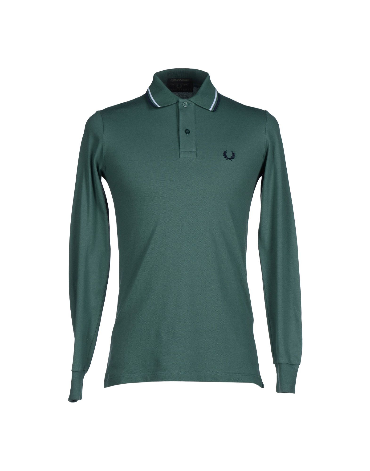Fred perry polo shirt in green for men emerald green Emerald green mens dress shirt