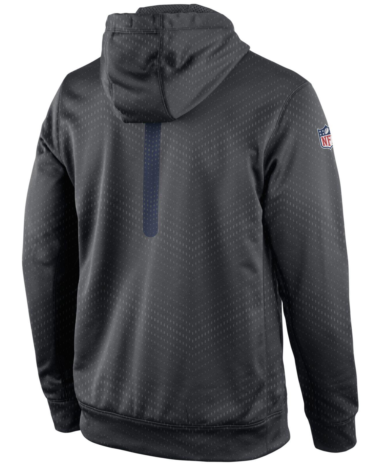 San Diego Chargers Fleece: Nike Men's San Diego Chargers Sideline Ko Fleece Hoodie In