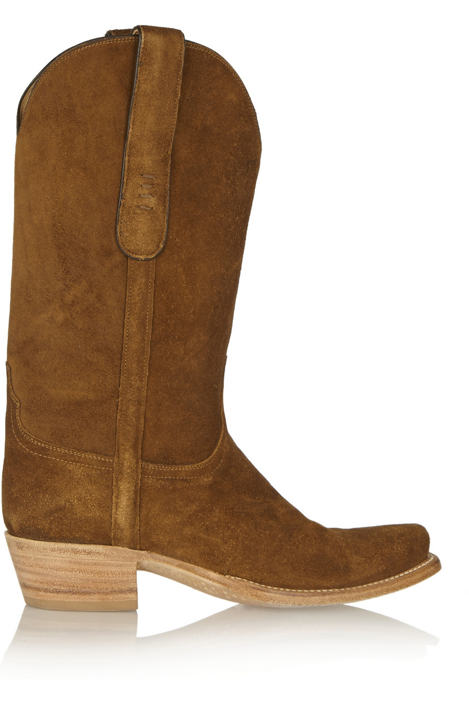 Lucchese   Romia Suede Western Boots in Brown | Lyst