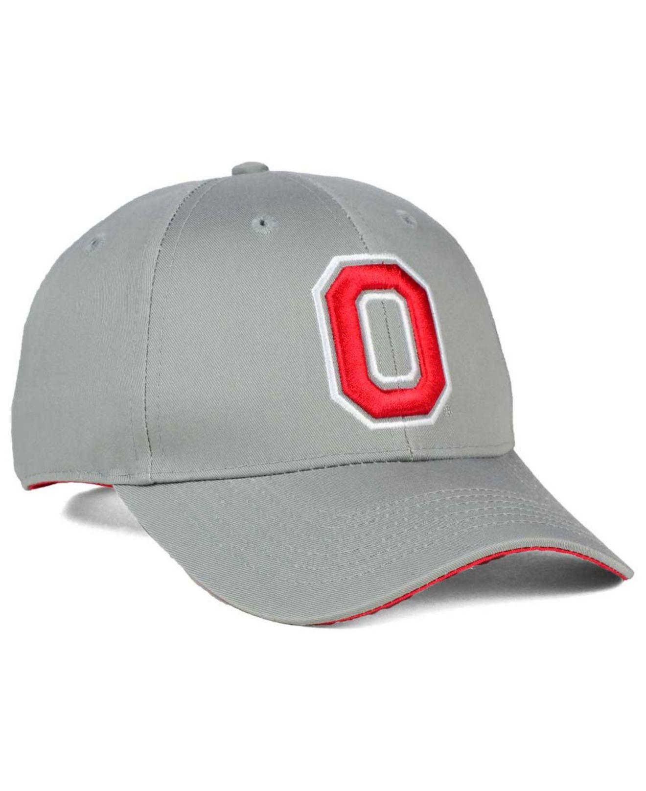 Lyst - J America Ohio State Buckeyes Osu Snapback Cap in Gray e3077649c537