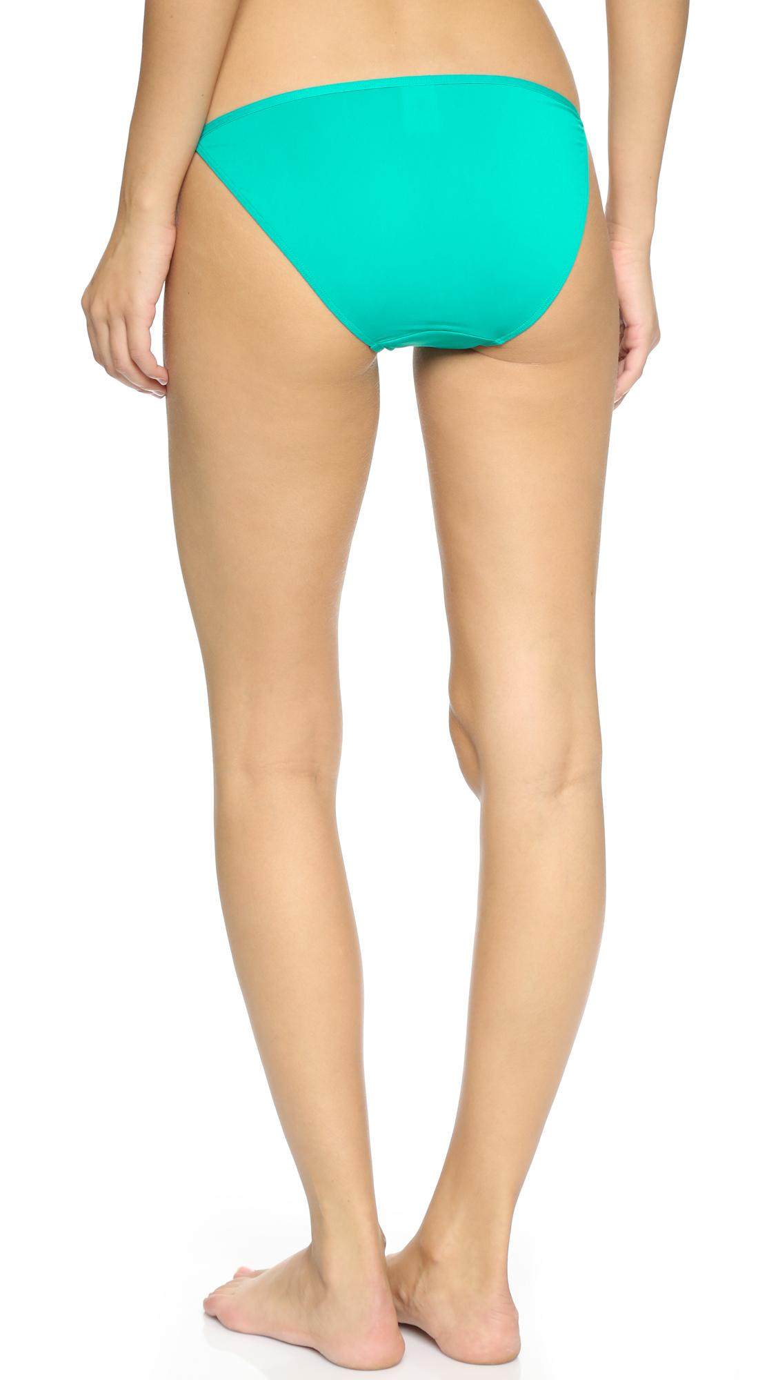 Japanese girls cotton string bikini underwear