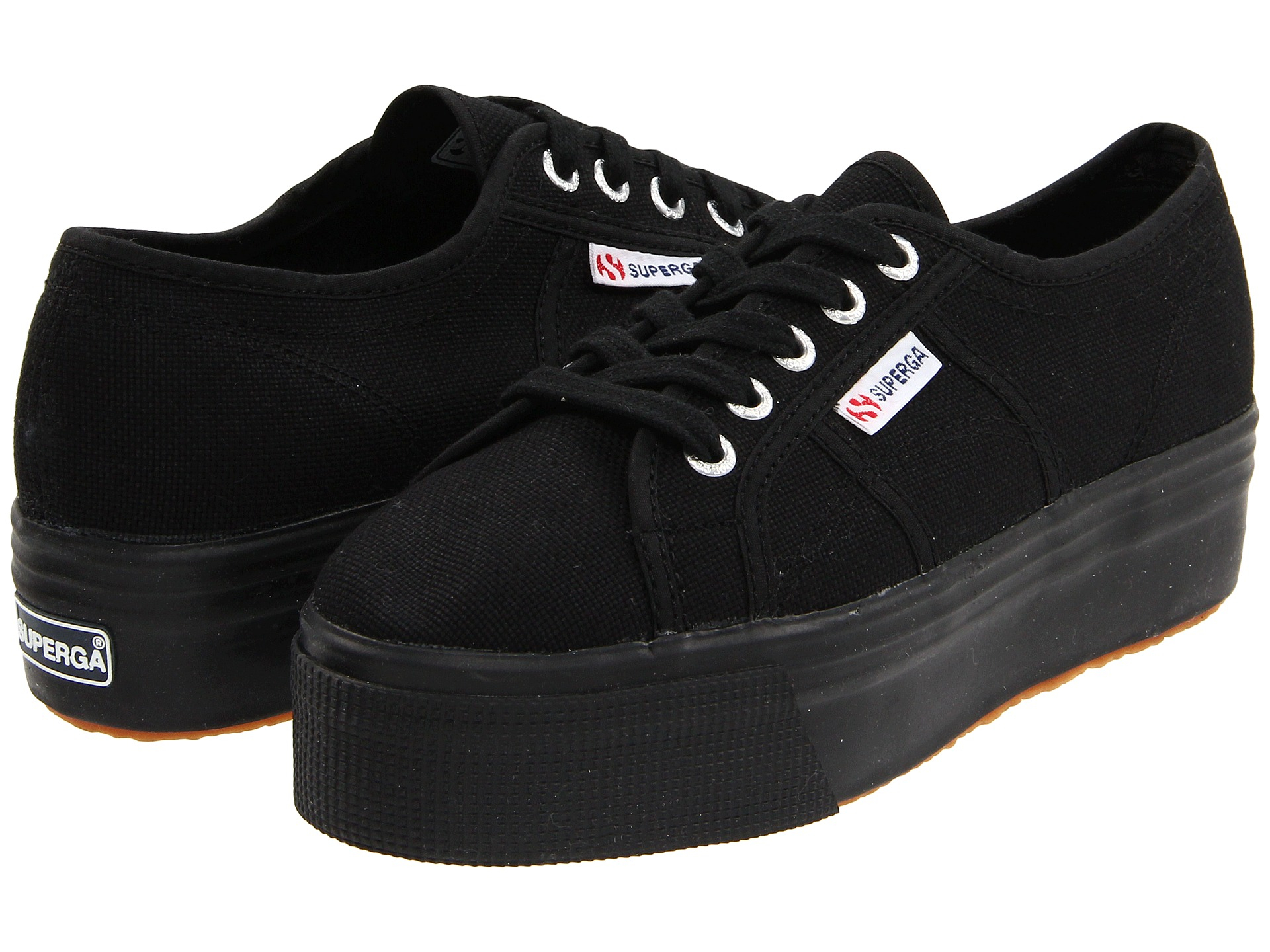 9b460b7a93f Lyst - Superga 2790 Acotw Linea Up And Down in Black
