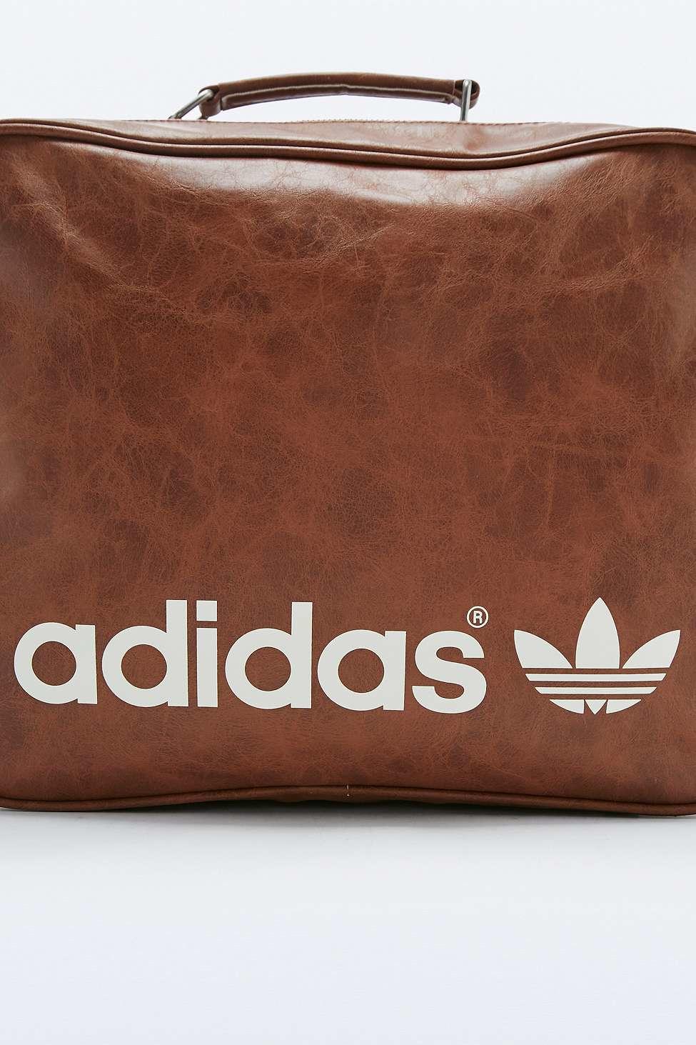5c97676c44 adidas Originals Brown Vintage Airline Bag in Brown for Men - Lyst