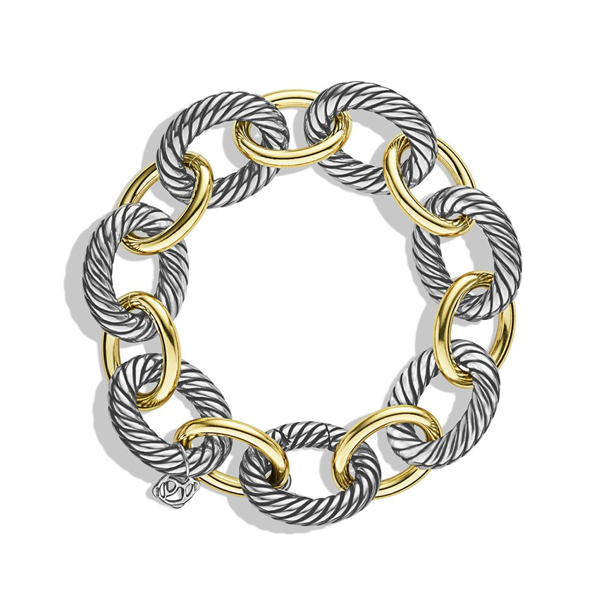 Lyst David Yurman Oval Extralarge Link Bracelet With