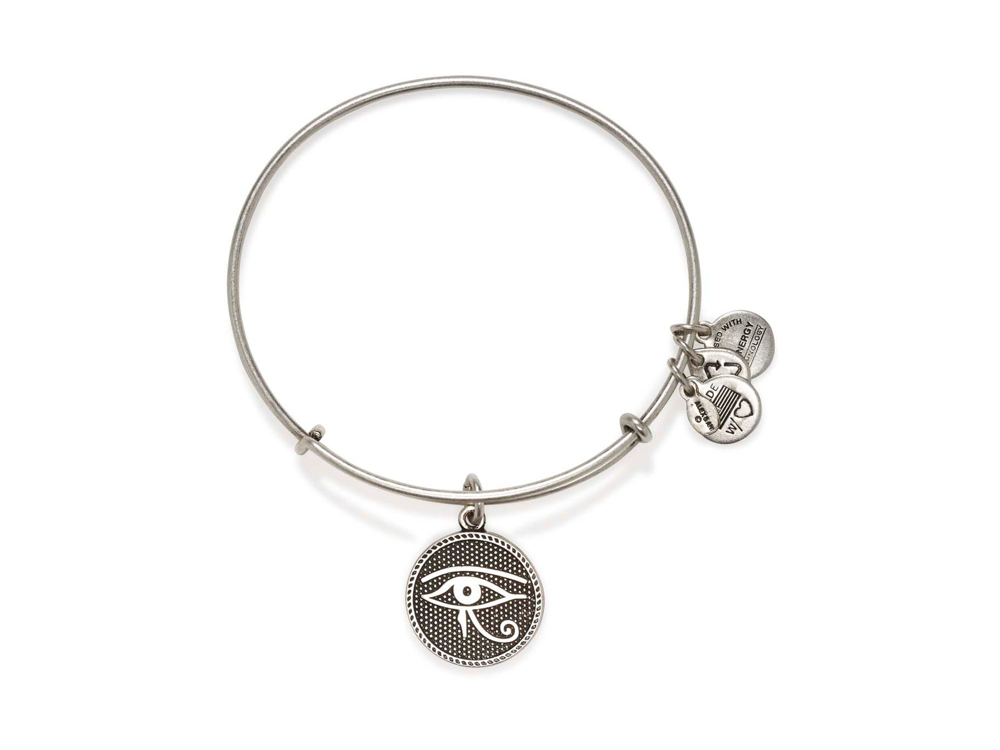 alex and ani eye of horus ii expandable wire bangle in