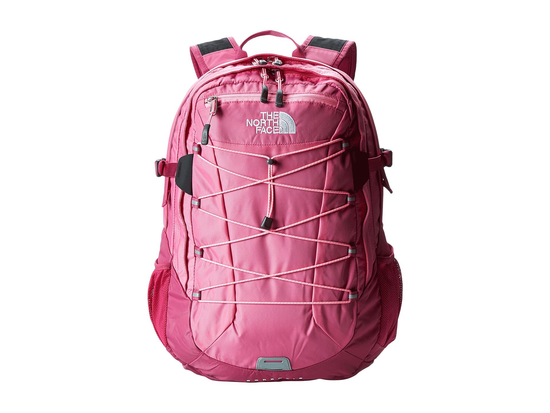 mochilas north face mujer rosa