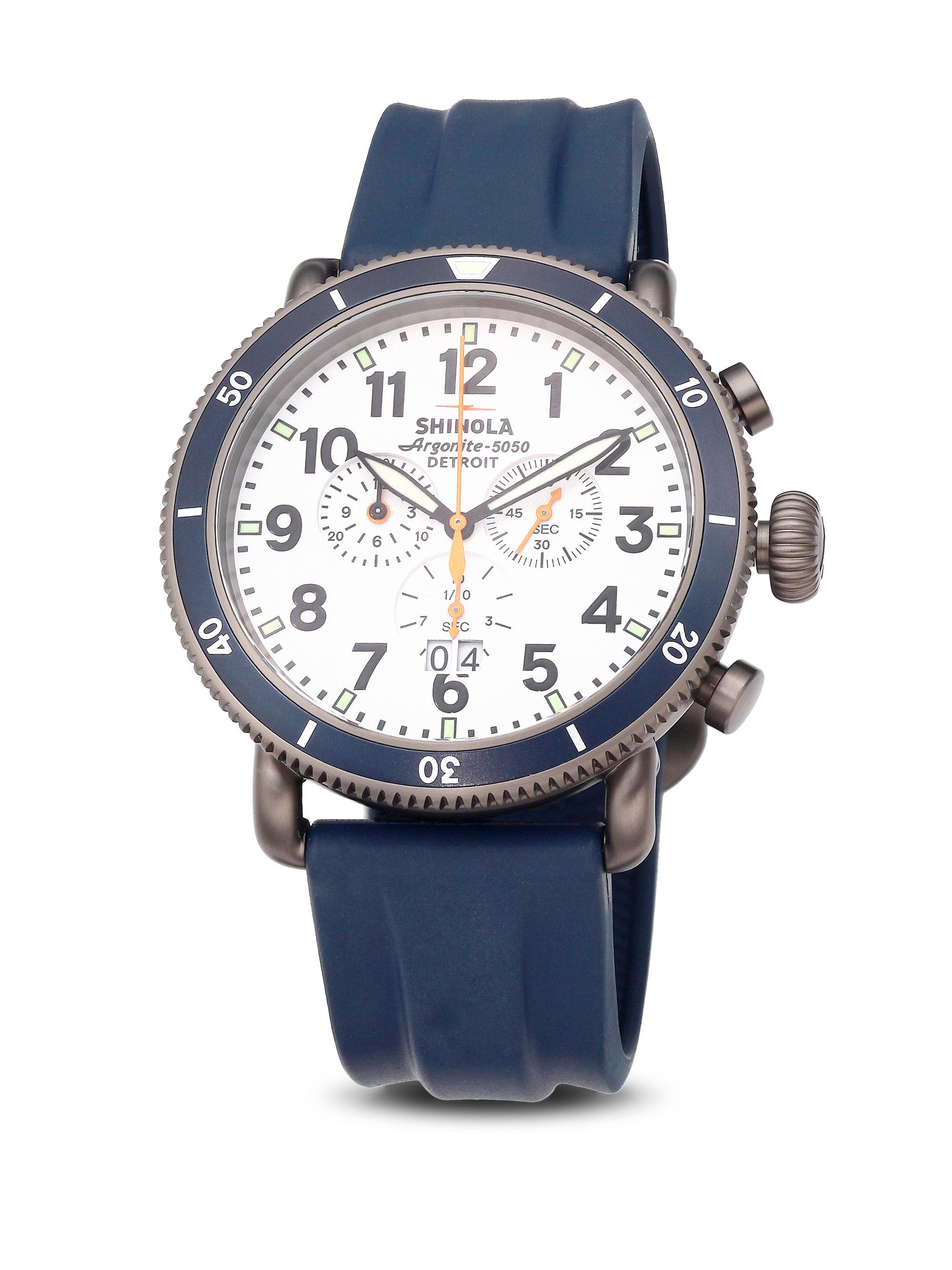 67fe6f683 Shinola Runwell Sport Stainless Steel Chronograph Strap Watch in ...