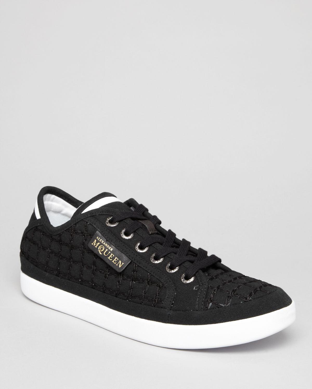 Puma Alexander Mcqueen Rabble Lo Sneakers In Black For Men