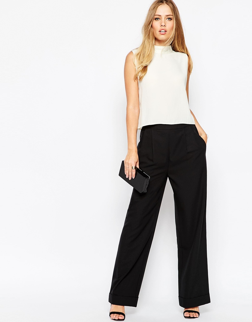 Tailored Red Trouser River Island Women