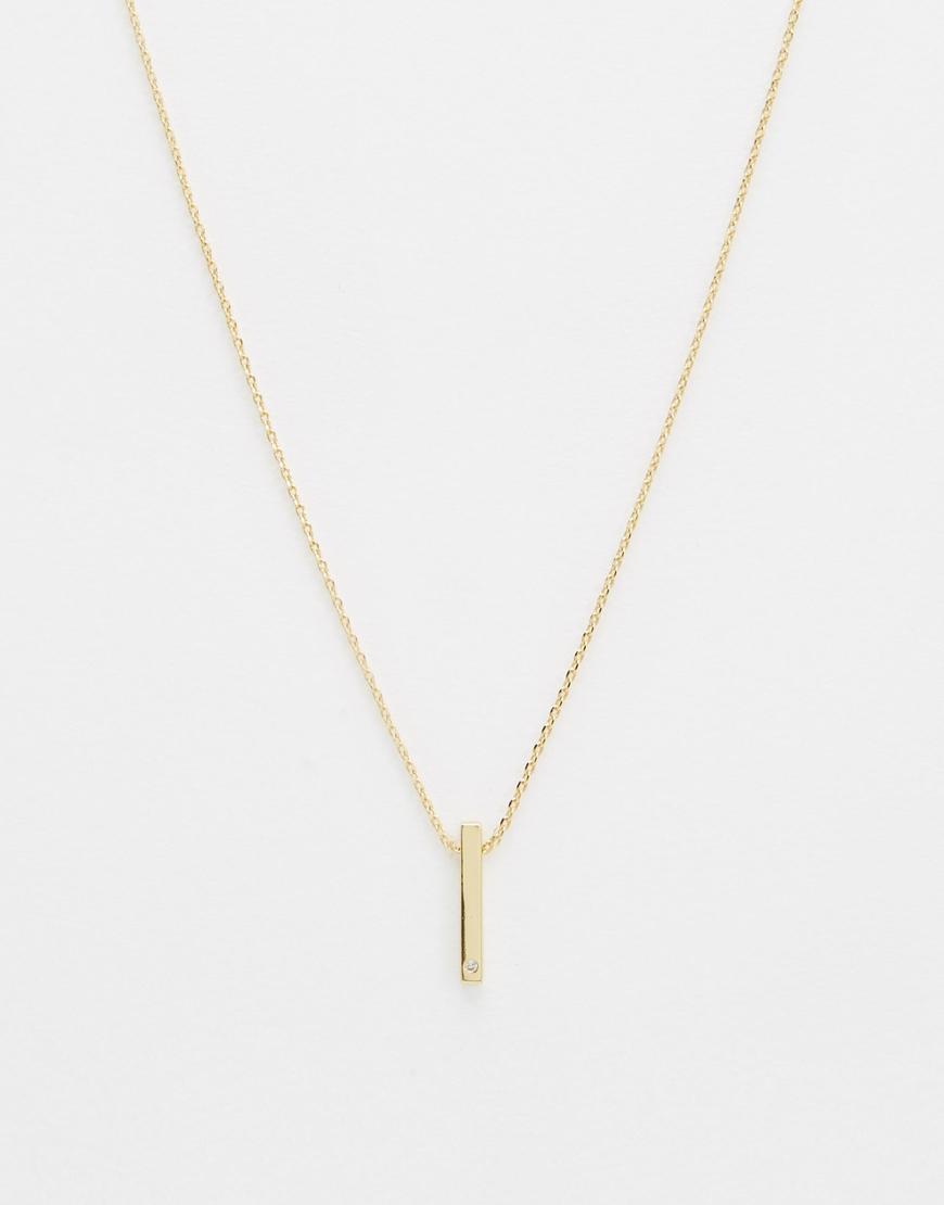 Orelia Love necklace - Metallic a43BLpI