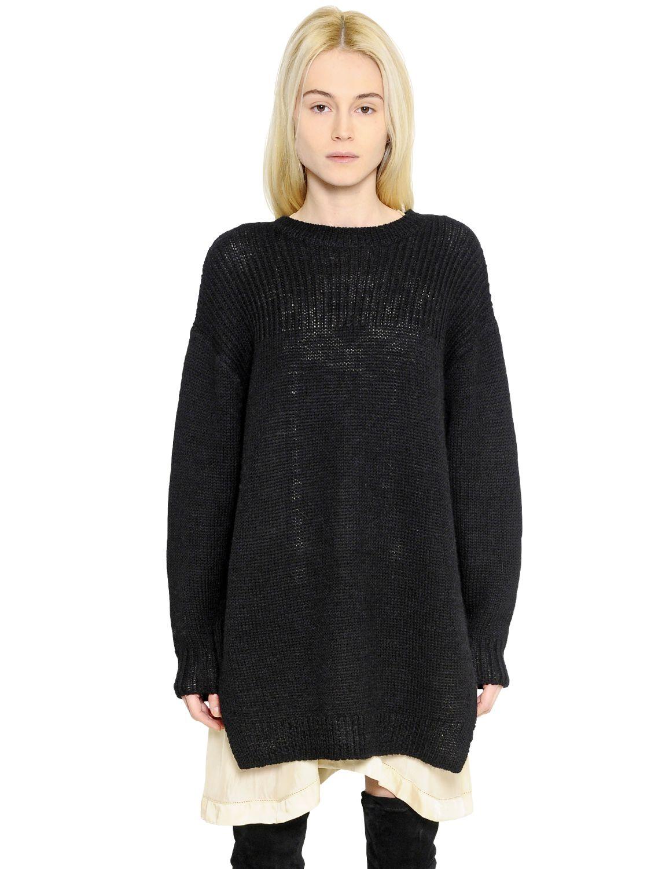 lyst toile isabel marant wool alpaca blend sweater in. Black Bedroom Furniture Sets. Home Design Ideas