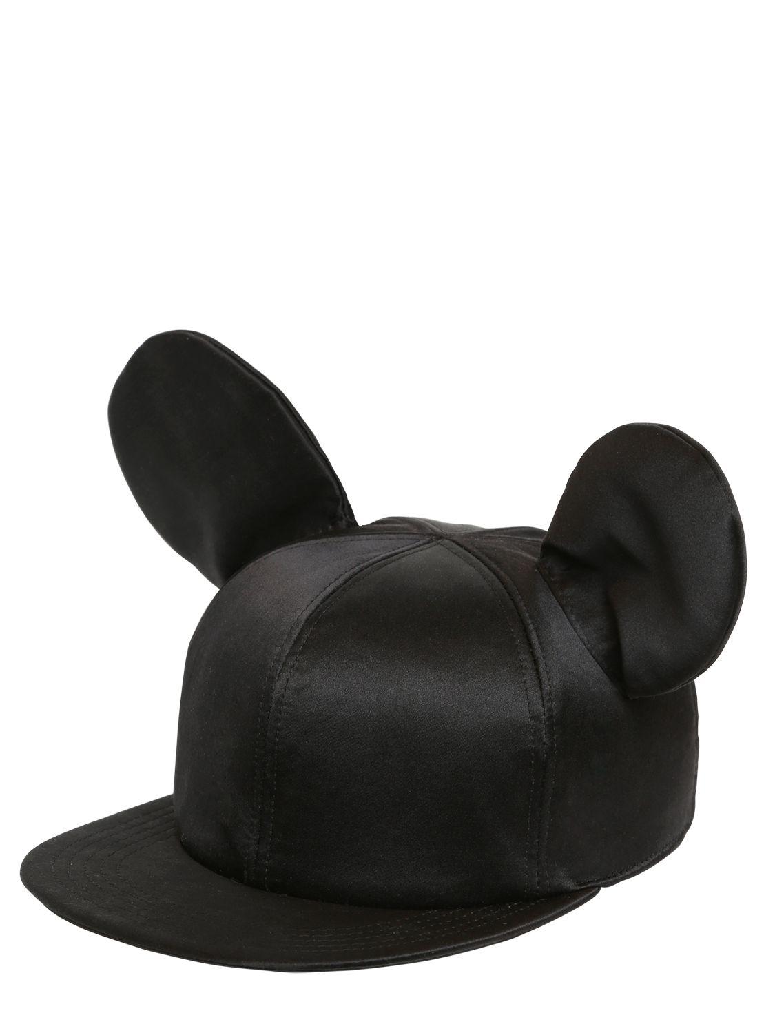 Lyst Federica Moretti Tito Silk Satin Baseball Hat With