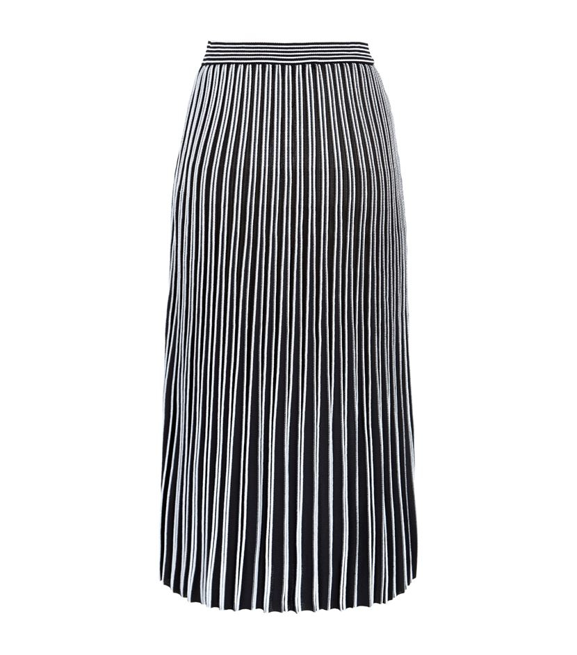 proenza schouler excel pleated skirt in black lyst