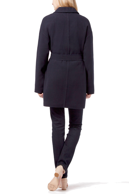 tommy hilfiger kadice wrap coat in blue lyst. Black Bedroom Furniture Sets. Home Design Ideas