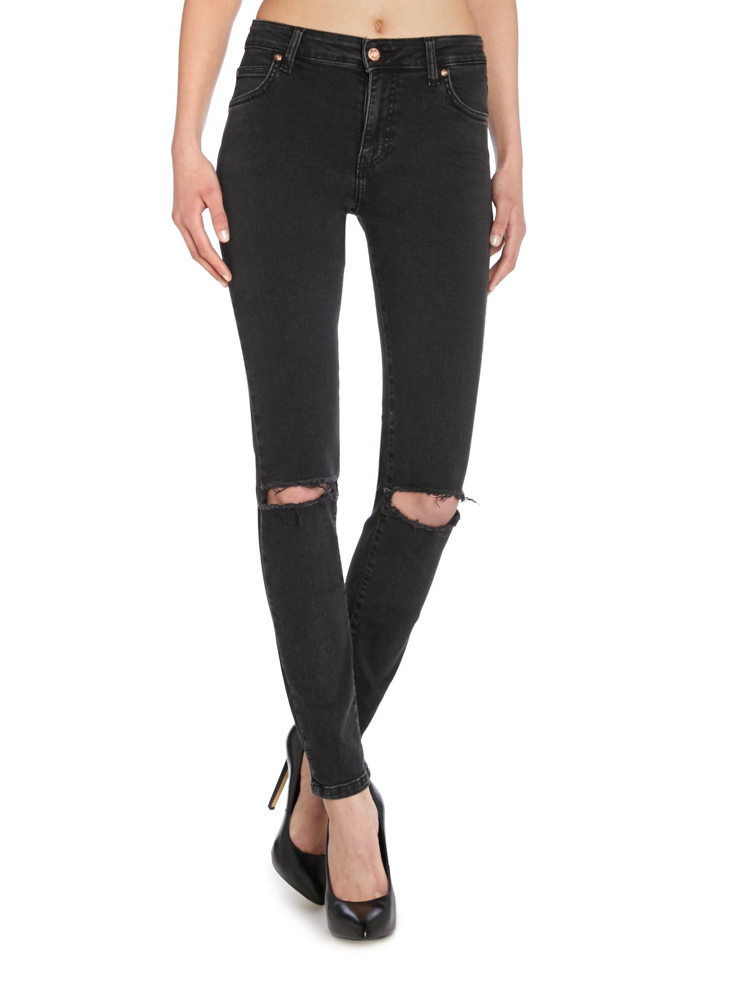 Dr denim regina 5 pocket skinny jeans