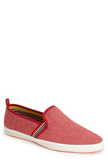 Fish n chips fish 39 n 39 chips 39 fry 2 39 slip on in red for for Fish n chips shoes