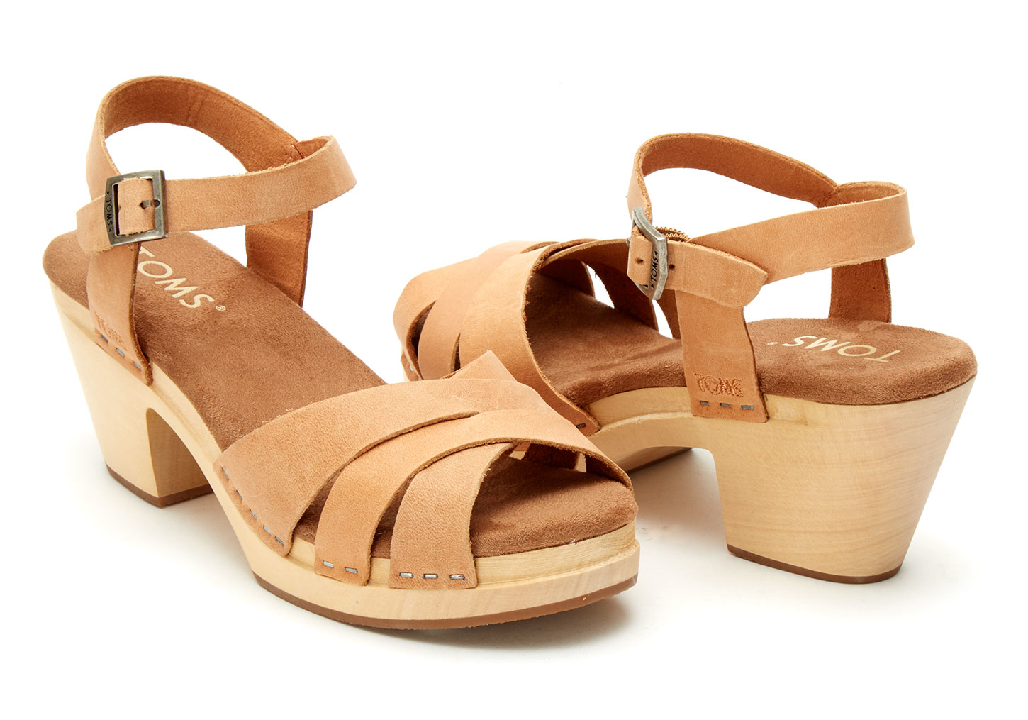 Womens Natural Leateher Shoes