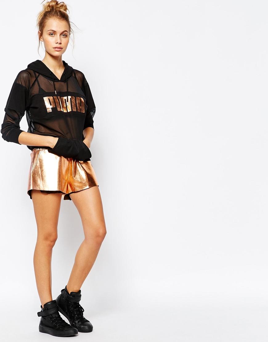 puma rose gold jumper