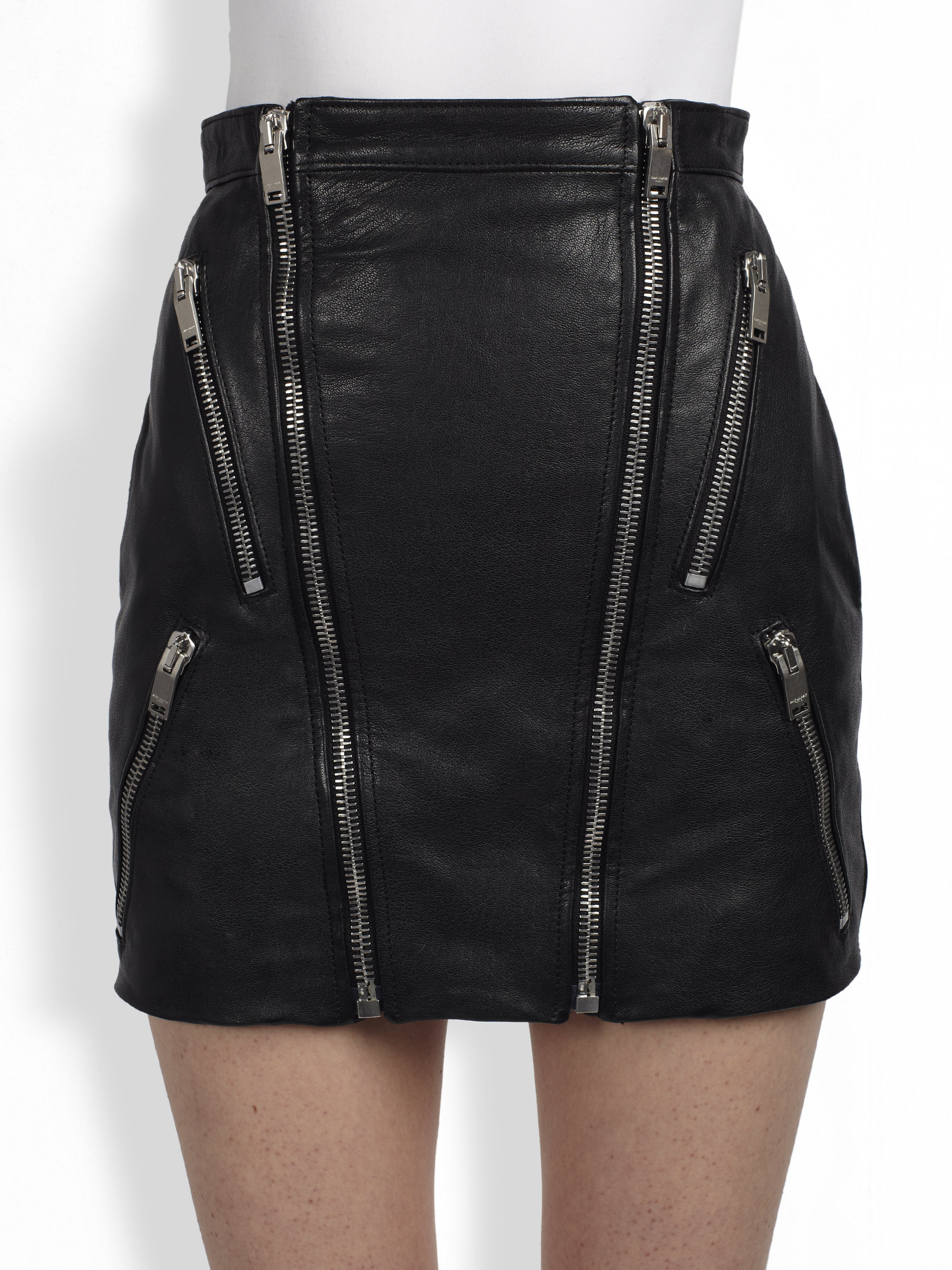 leather skirt with zipper dress ala