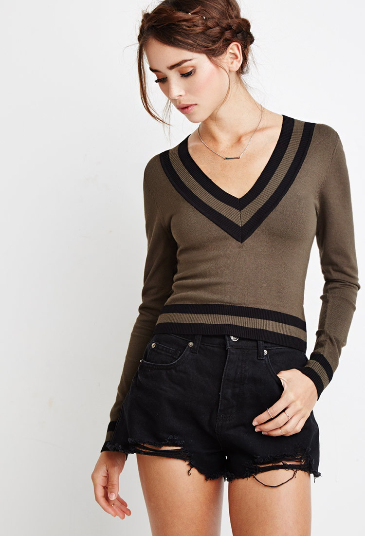 crop sweaters forever 21