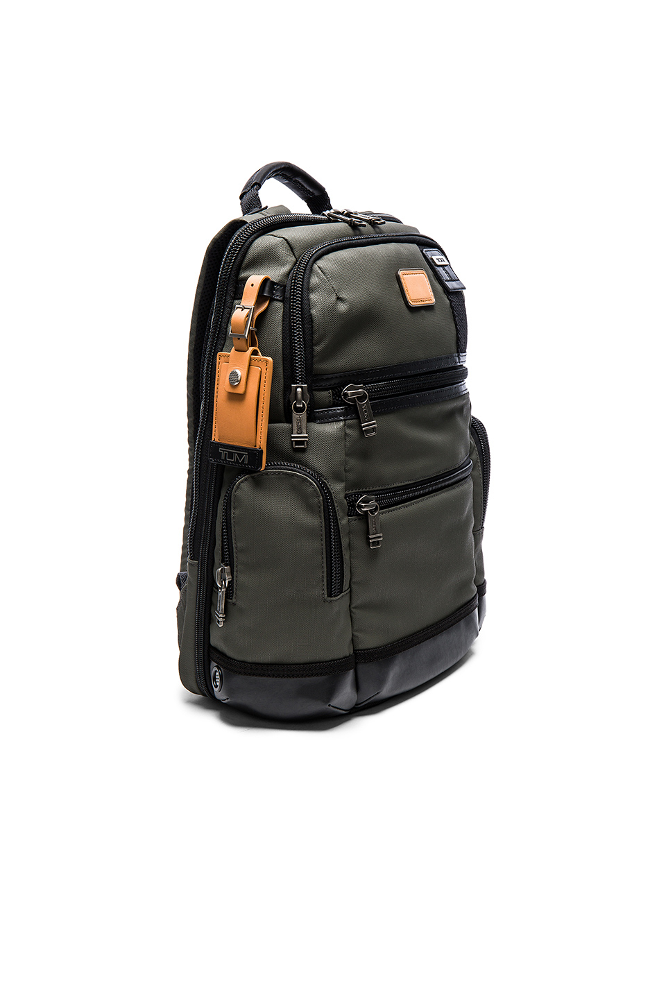 Tumi Alpha Bravo Knox Backpack In Green Lyst