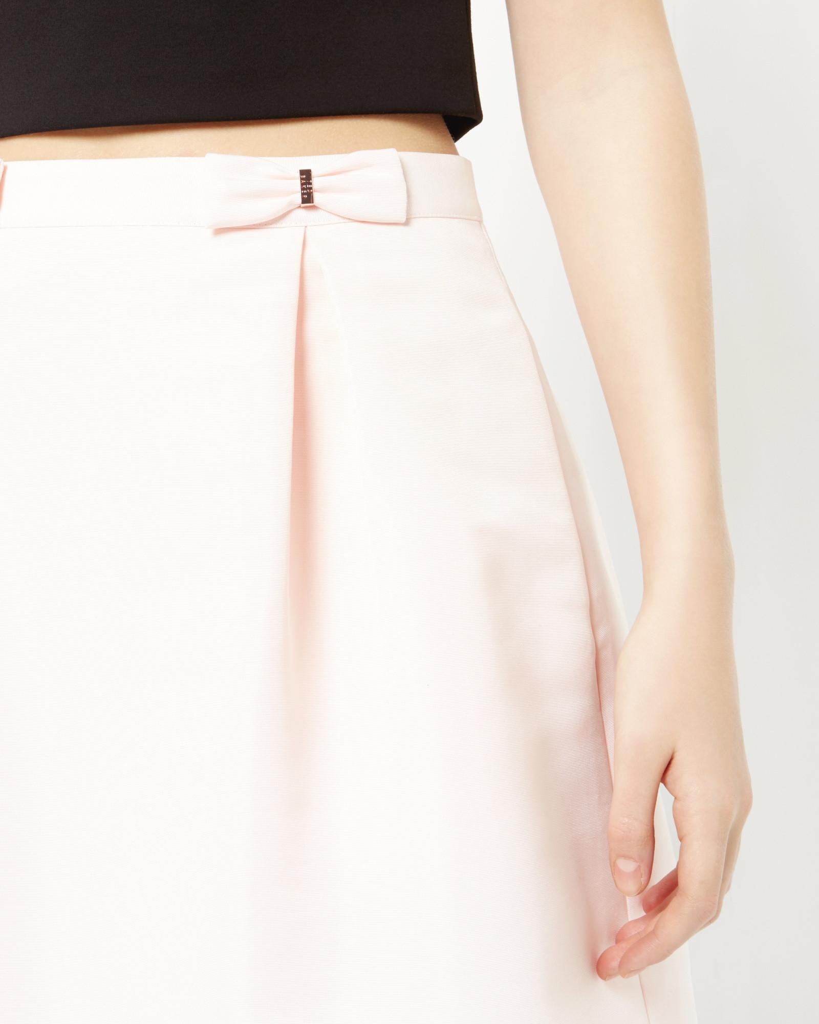 Bow Mini Skirt Ted Baker Buy Cheap Best Wholesale Discount Big Discount Rj1niu