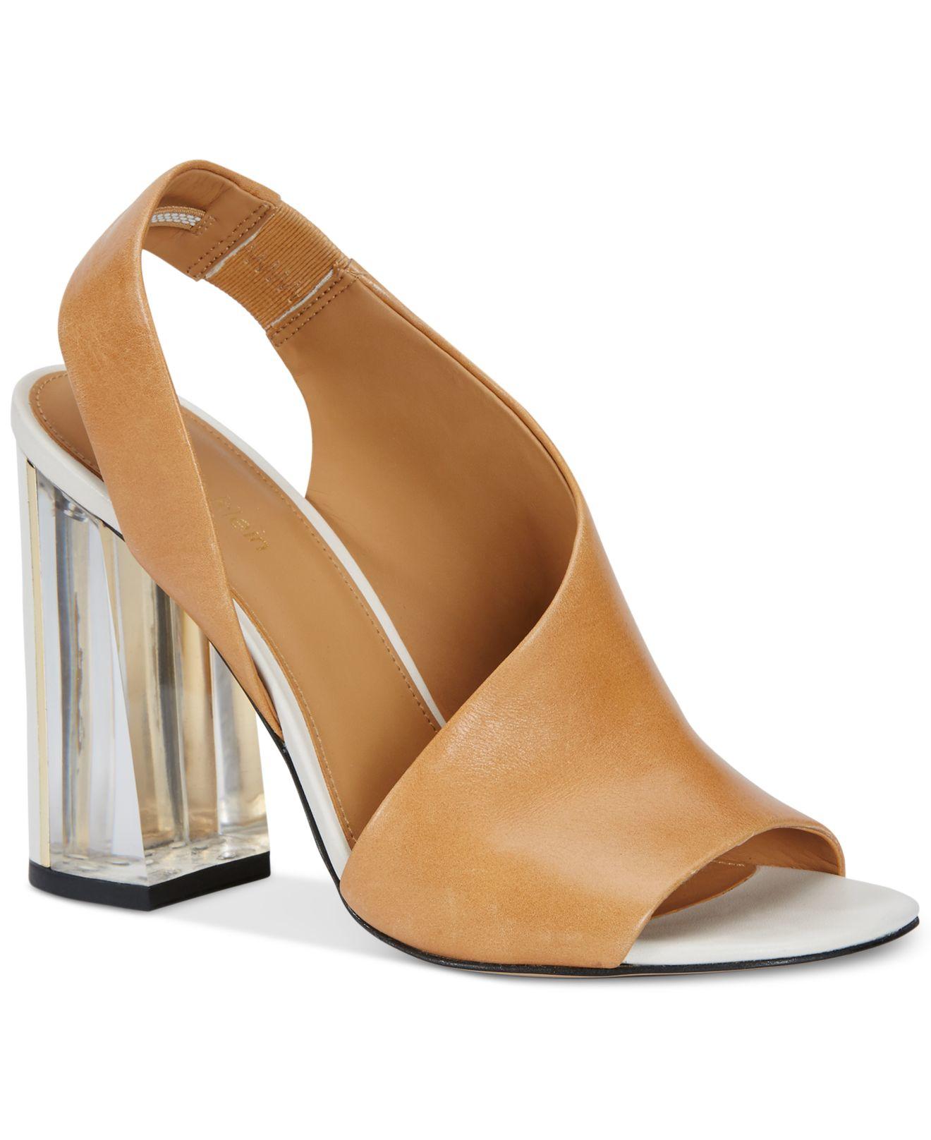 Womens brown dress sandals
