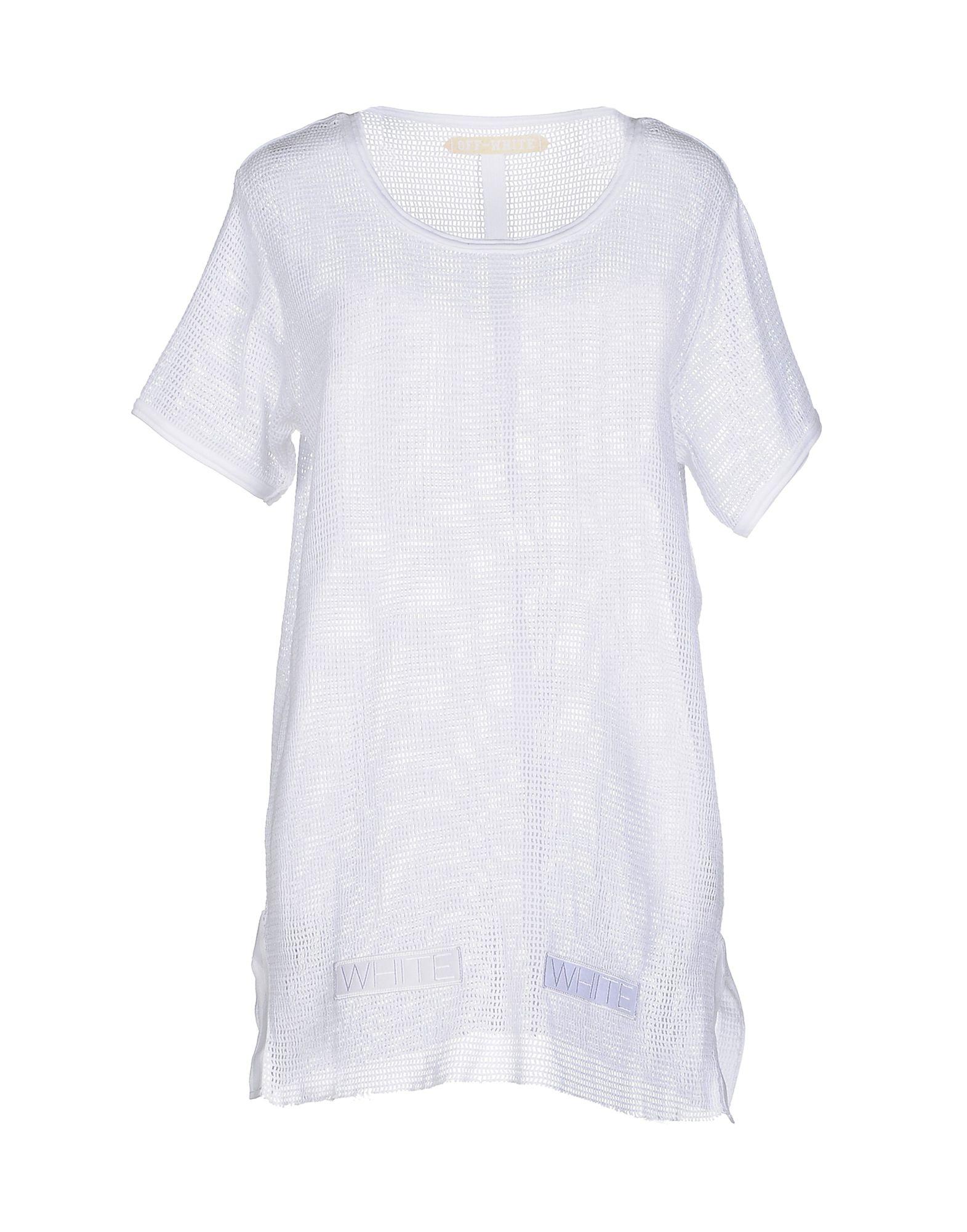 lyst off white c o virgil abloh jumper in white. Black Bedroom Furniture Sets. Home Design Ideas
