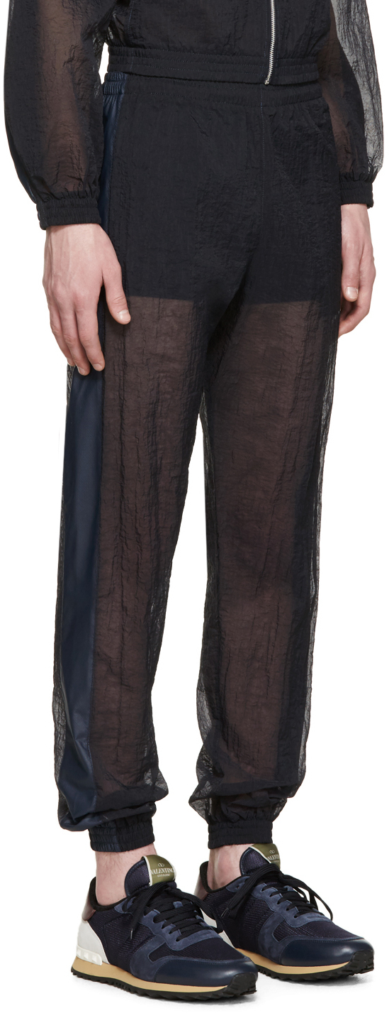 Cottweiler Navy Sheer Robe Lounge Pants in Blue for Men | Lyst