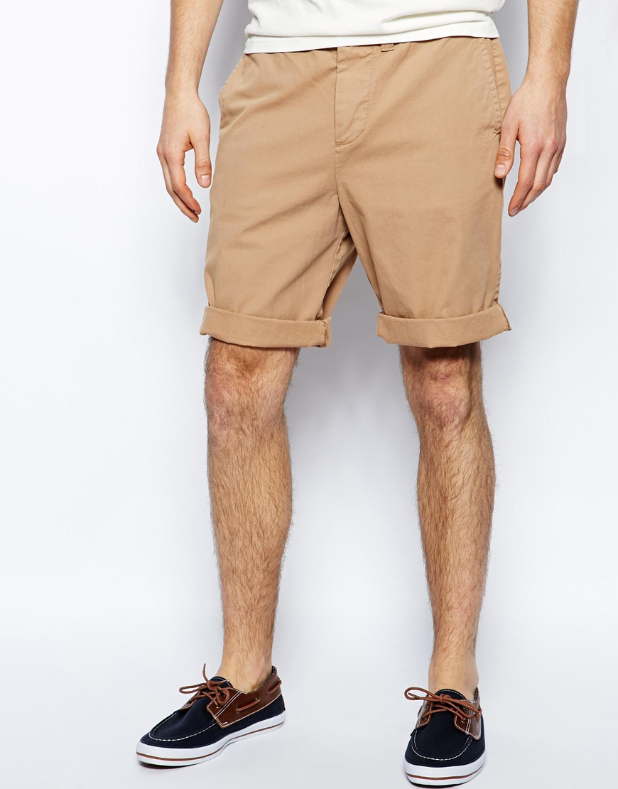 Jack wills Widmore Chino Shorts in Natural for Men | Lyst