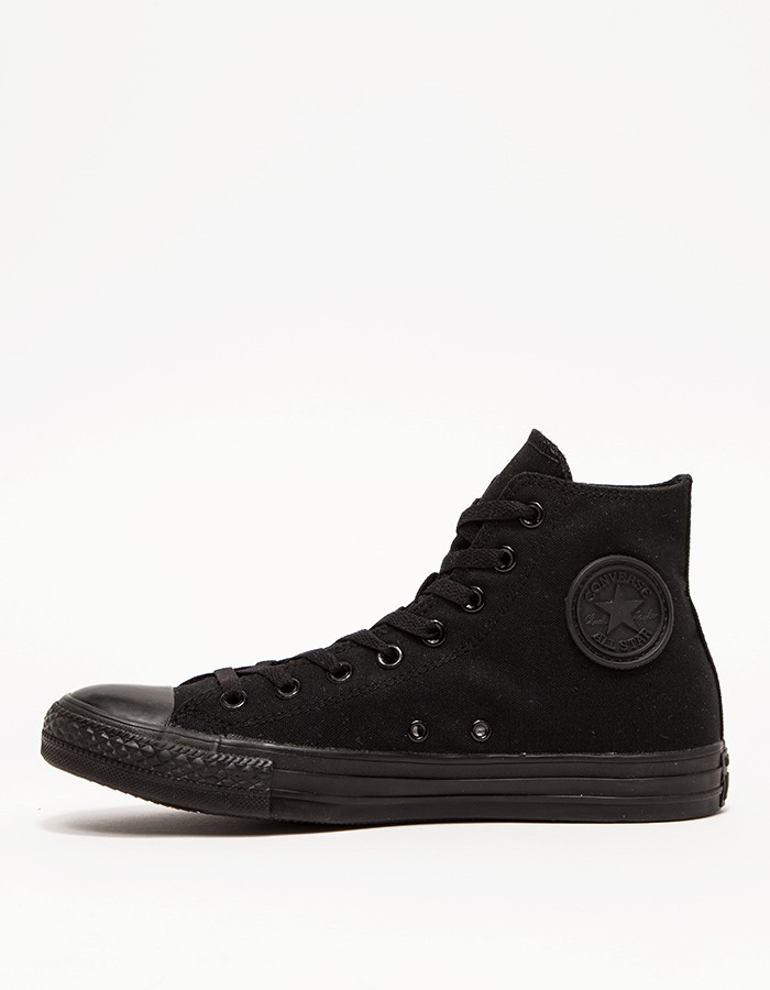 032a9f383dcf Lyst - Converse Chuck Taylor High Black Mono in Black for Men