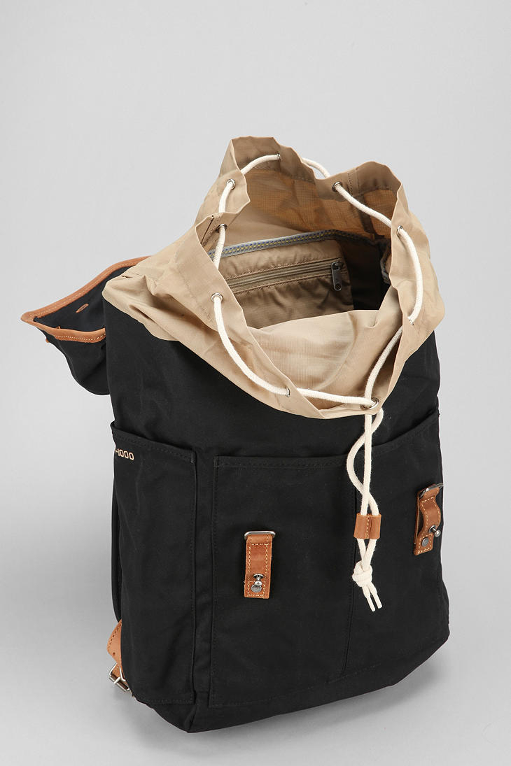 Fjallraven No 21 Medium Backpack In Black For Men Lyst