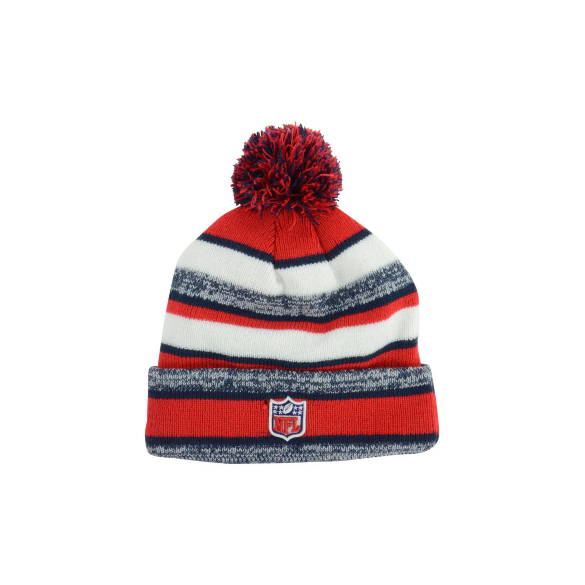 dcce3a9be8d ... france lyst ktz new england patriots sport knit hat in red for men  f3db9 b7fd6