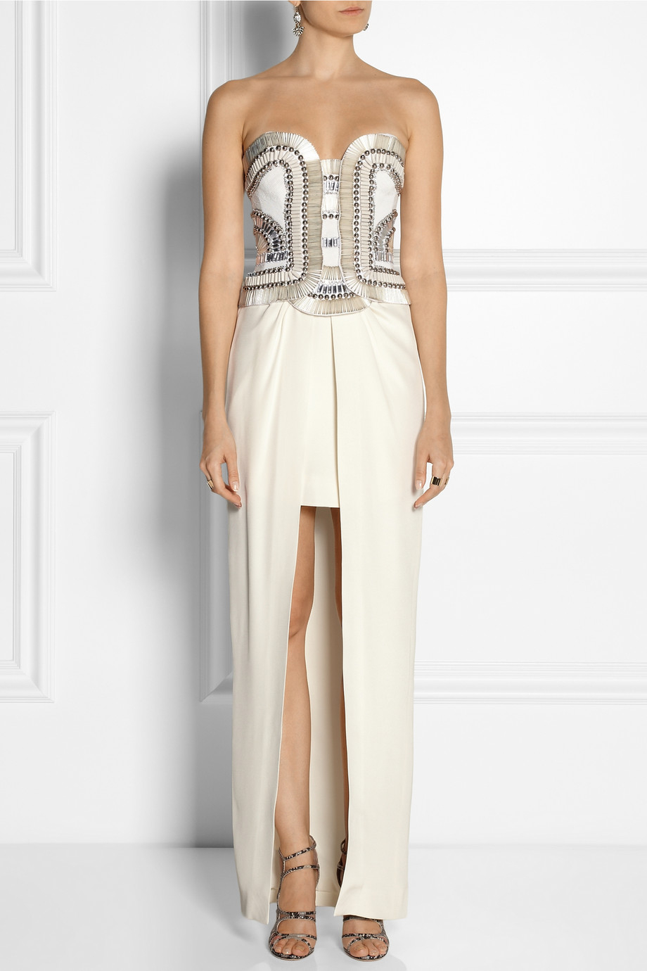Sass Amp Bide Hit The Breaks Embellished Two Piece Cotton