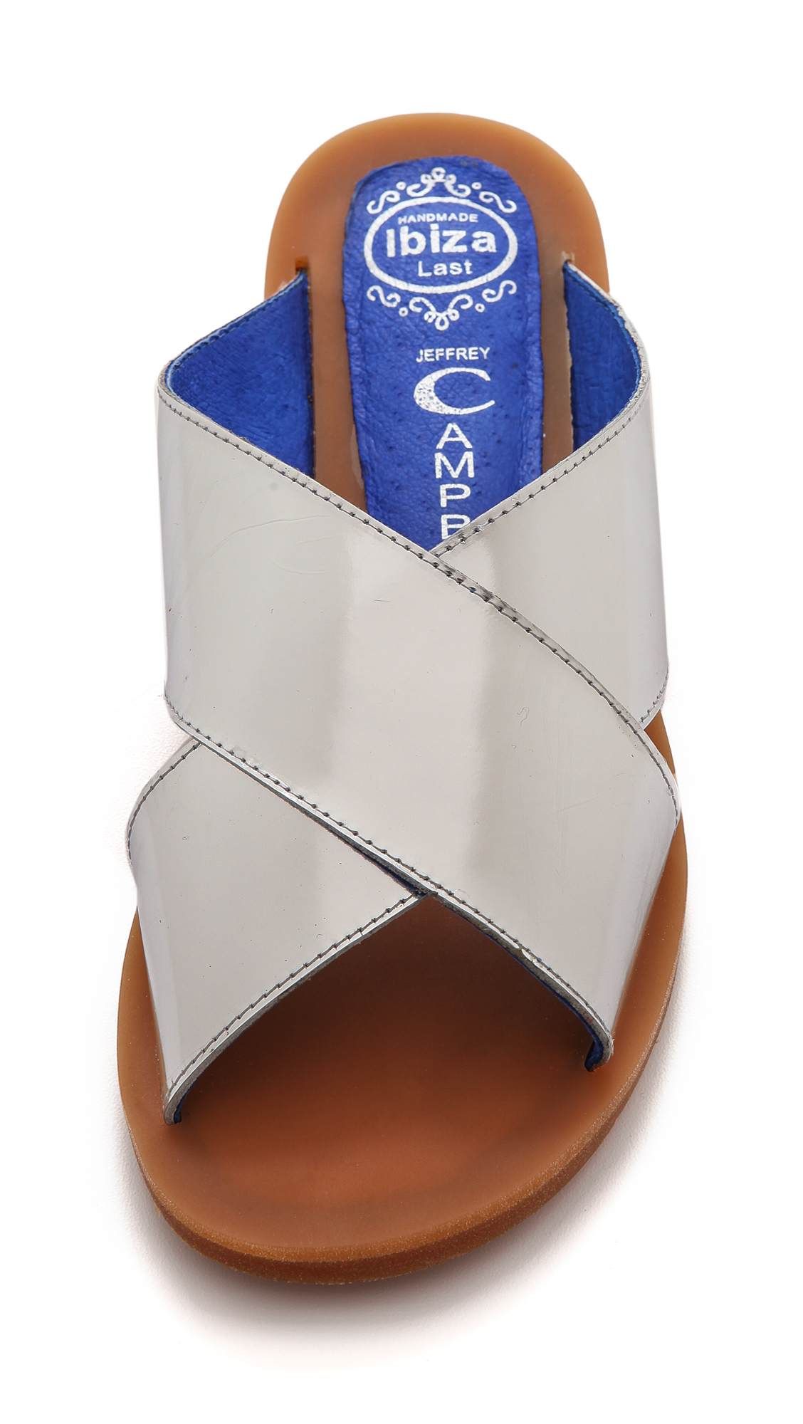 Lyst Jeffrey Campbell Caprese Crisscross Slide Sandals