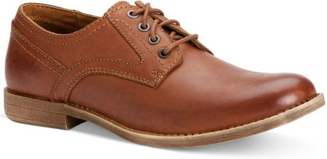 Plain Toe Oxford Brown Parry Plain Toe Oxfords in