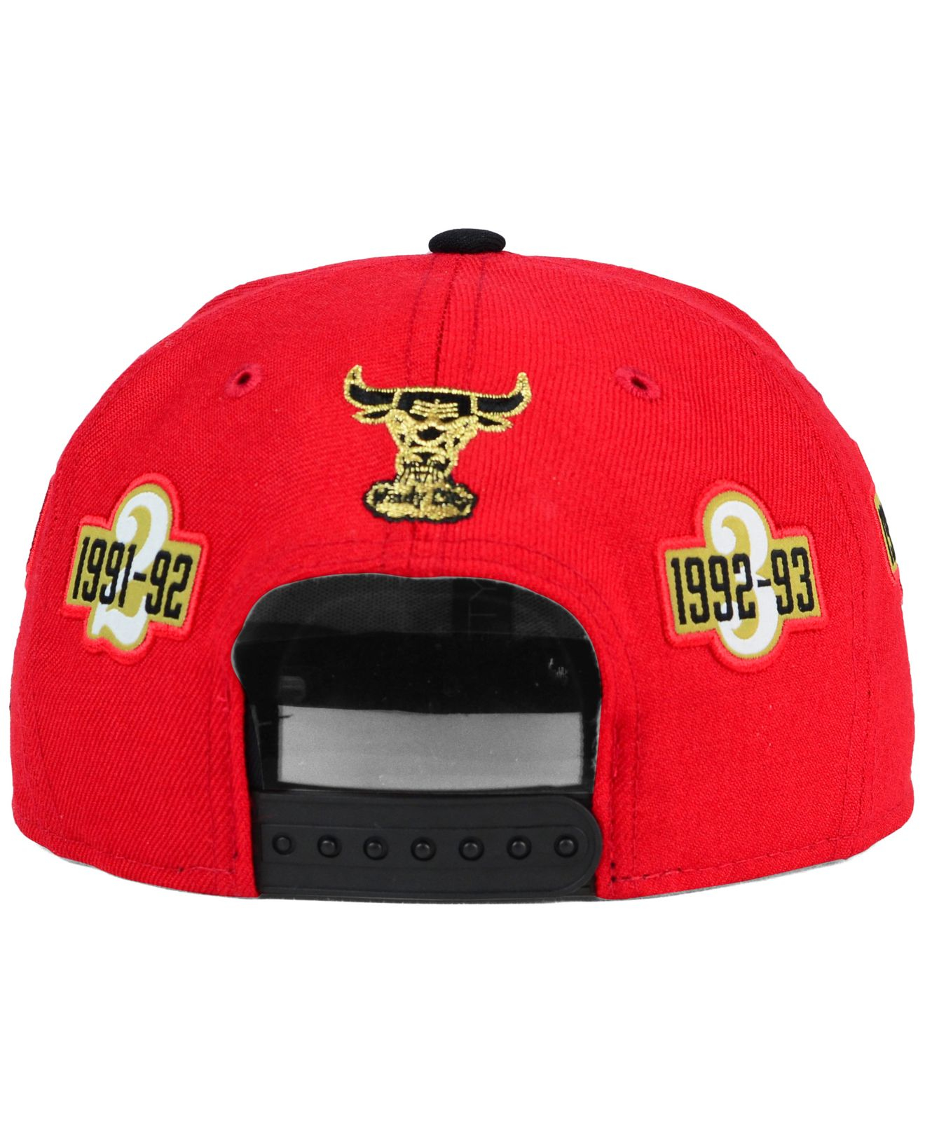 premium selection 963d7 74f36 KTZ Chicago Bulls Best Ever Pack 9fifty Snapback Cap in Red for Men ...