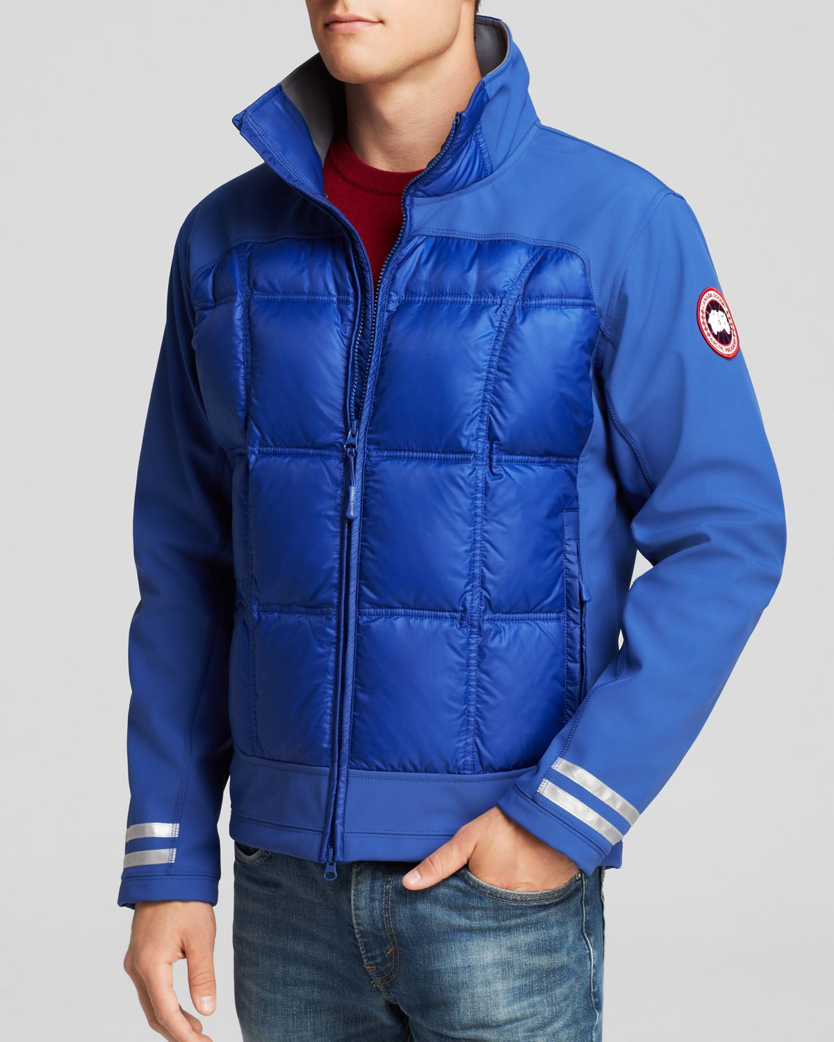 Canada Goose expedition parka online authentic - Canada goose Hybridge Jacket in Blue for Men (Pacific Blue) | Lyst