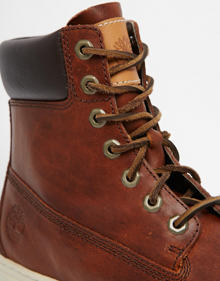 Lyst - Timberland Newmarket Cupsole Boots in Brown for Men 6285d9727c38