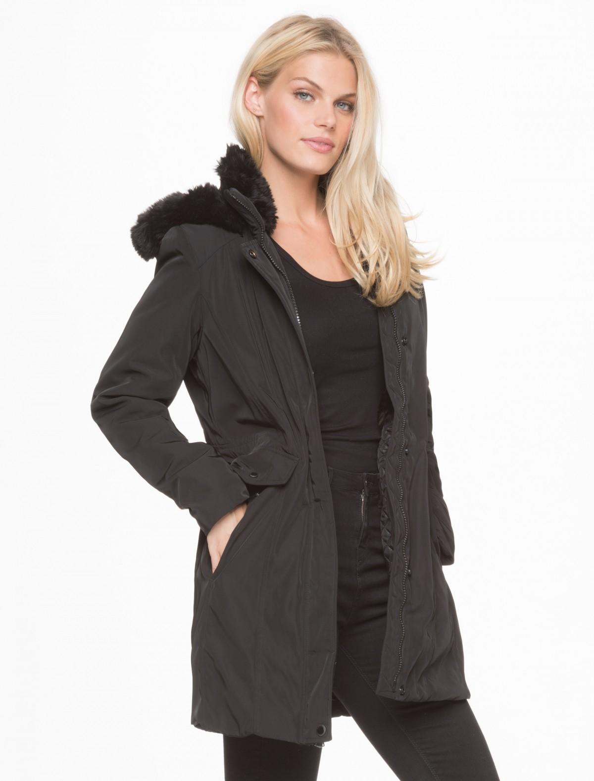 Lyst Marc New York Delaney Parka Jacket In Black