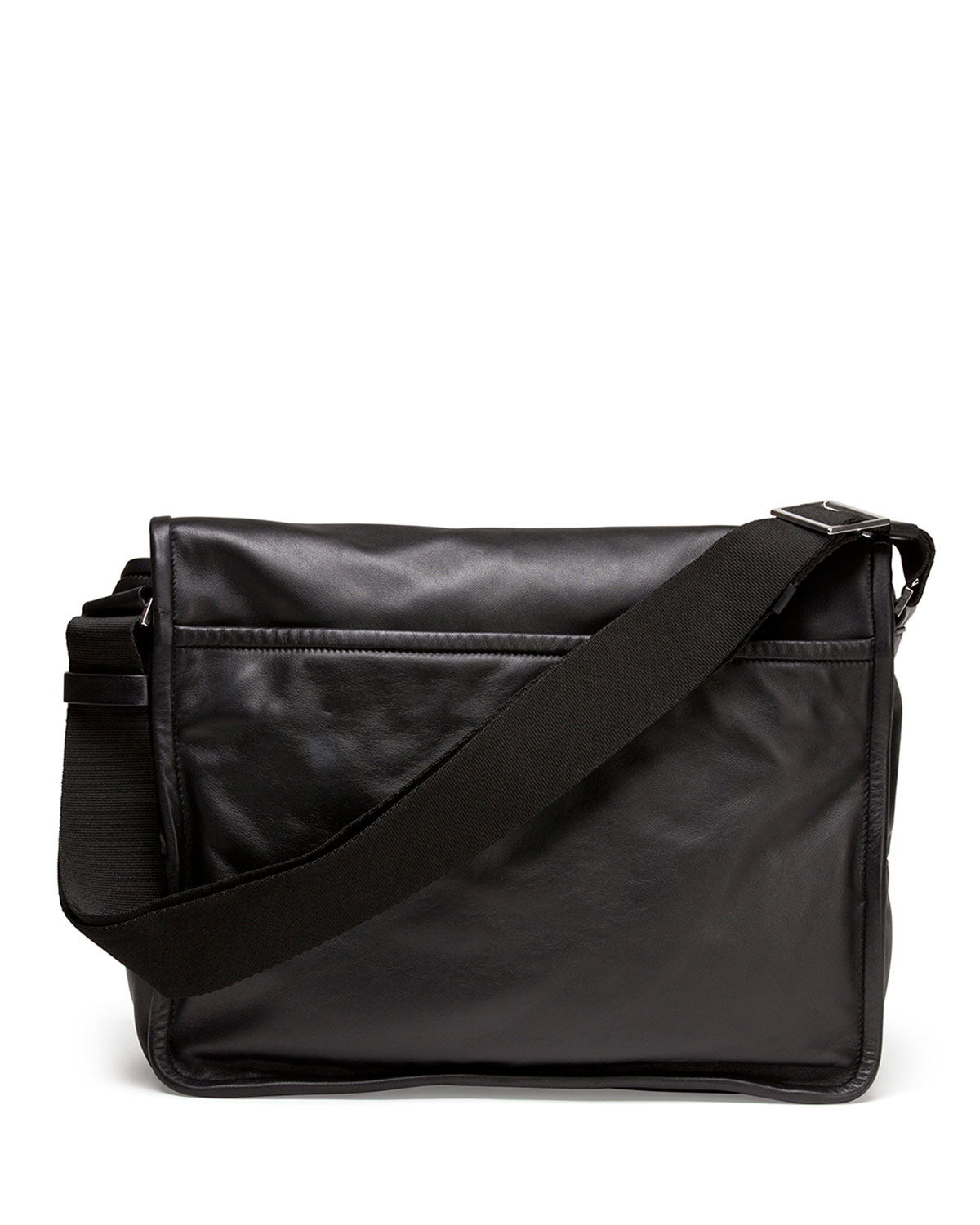 eaa286bedb Lyst - Givenchy Obsedia Leather Messenger Bag in Black for Men